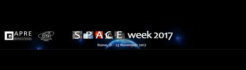 (Italiano) SPACE week 2017: 21-23 Novembre (Roma)