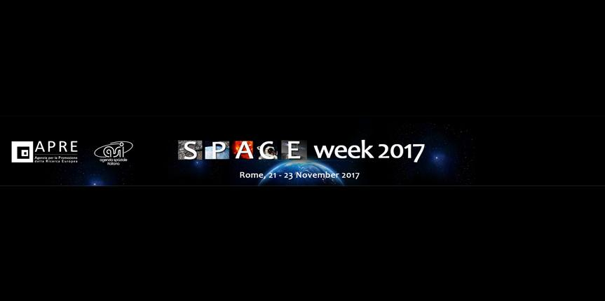 SPACE week 2017: 21-23 Novembre (Roma)