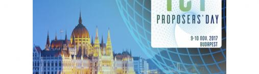 ICT Proposers' Day 2017: 9-10 Novembre 2017 (Budapest)