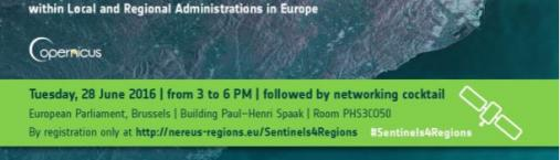#Sentinels4Regions | What can Sentinels do for Regions?