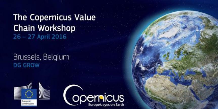 The Copernicus Value – Chain Workshop Bruxelles 26 aprile 2016 – 27 aprile 2016
