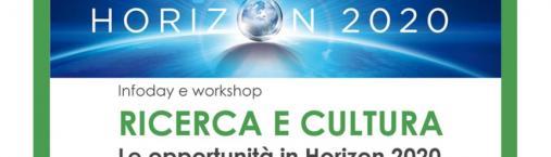 Infoday e workshop, Ricerca e cultura: 4 luglio (Milano)